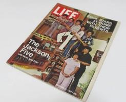ジャクソンファイブ表紙 ライフ誌 マイケルジャクソン LIFE 1971年9月24日号
