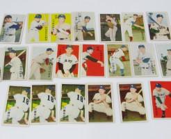 古いプロ野球選手カード