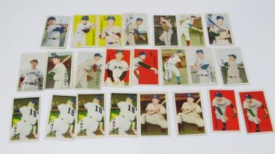 古いプロ野球選手カード メンコ 長嶋茂雄 川上哲治 稲尾和久など
