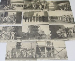 日本海軍 戦前絵葉書 海軍生活