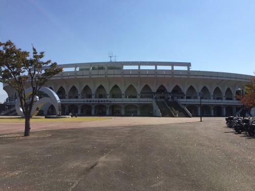 富山市民球場 アルペン 秋の北信越地区高校野球大会決勝