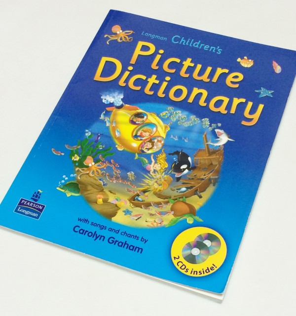 ロングマン 子供用英語教材 Longman Children's Picture Dictionary
