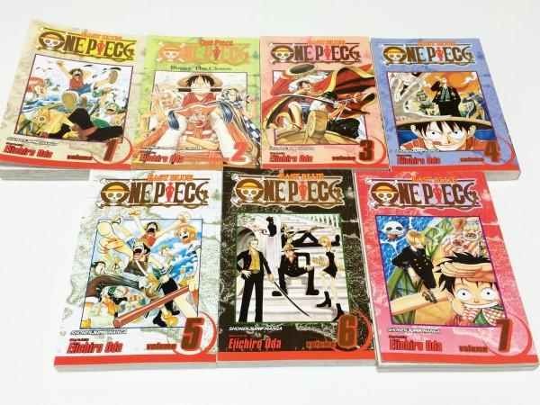 ONE PIECE ワンピース 英語版漫画単行本買取