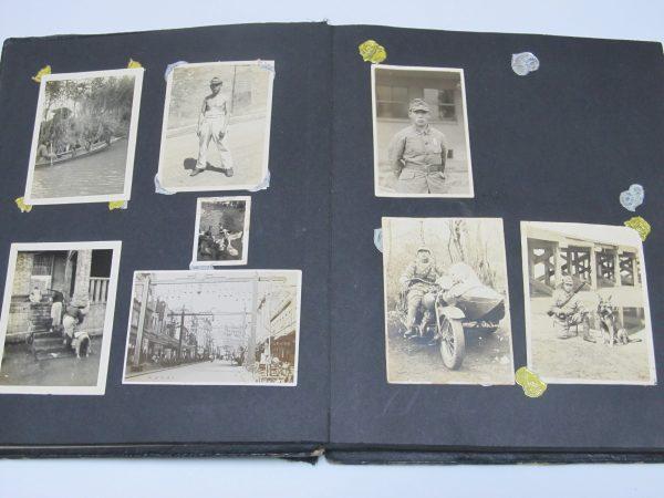 陸軍兵士 中国住民 日本軍 古写真