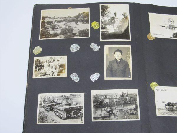 国民党 戦車 古写真 負傷日本兵