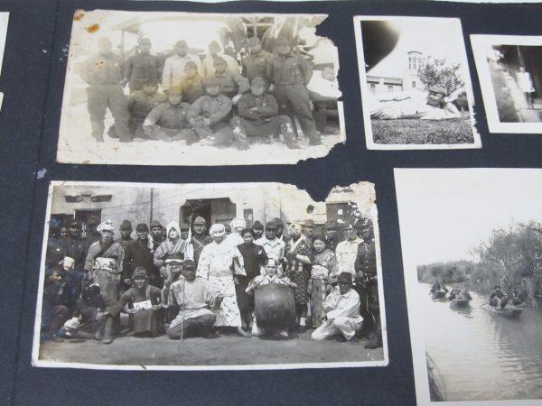 日本兵 余興 古写真