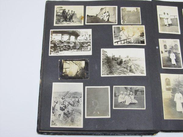 帝国陸軍兵士 日本軍 中国 看護婦 古写真 Japan Imperial Army in China photo image
