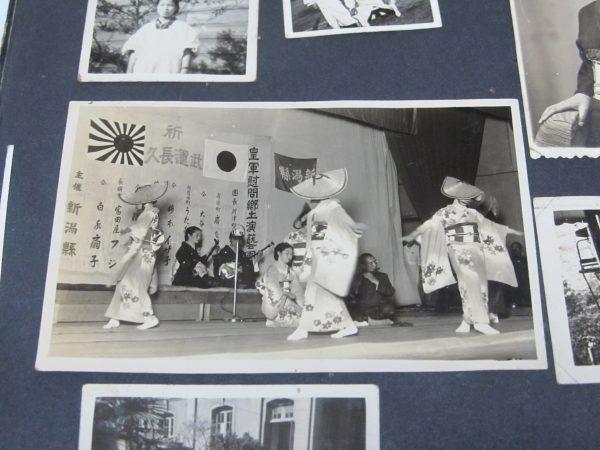 皇軍慰問郷土演芸 新潟県 古写真