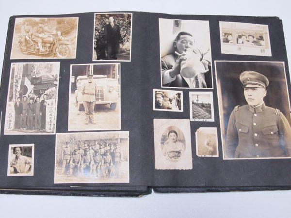 帝国陸軍兵士 日本軍 中国 古写真