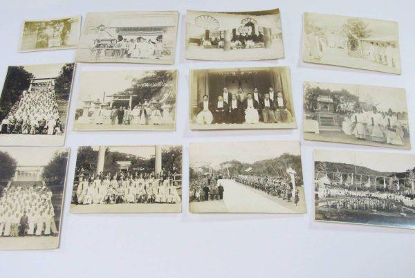 台湾神社 戦前古写真買取 通霄神社 八雲琴奉献 昭和