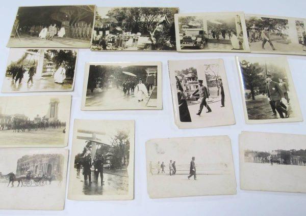 台湾神社 戦前古写真買取 台湾総督府 宮殿下神社参拝