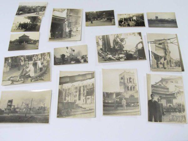 戦前中国写真買取 厦門神社 広東 慰霊祭典