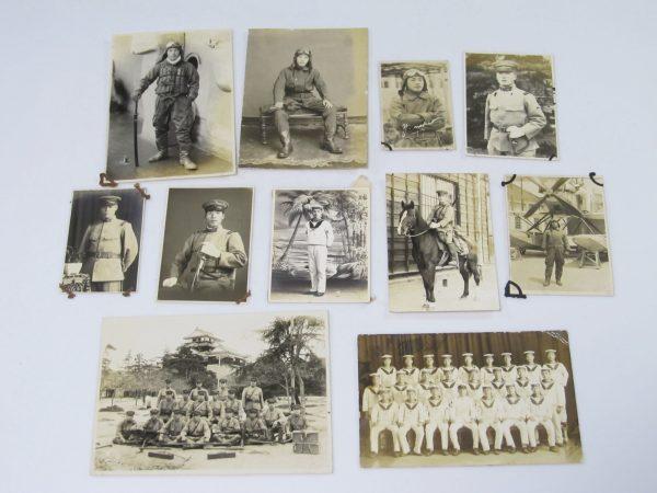 太平洋戦争中 大日本帝国海軍 陸軍 兵士 出征記念 写真買取