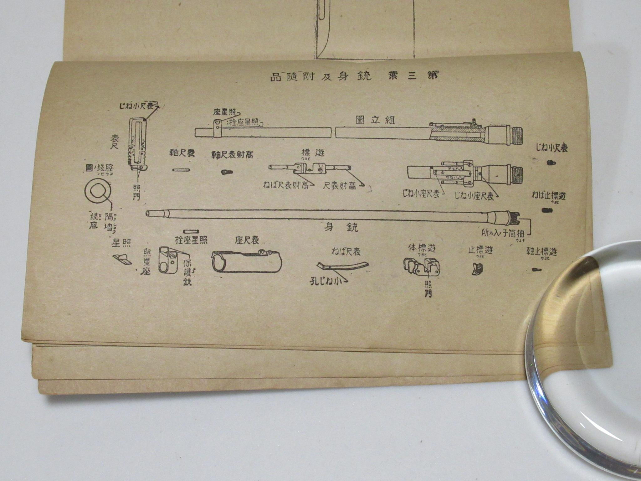 九九式小銃及短小銃取扱法 Type 99 rifle