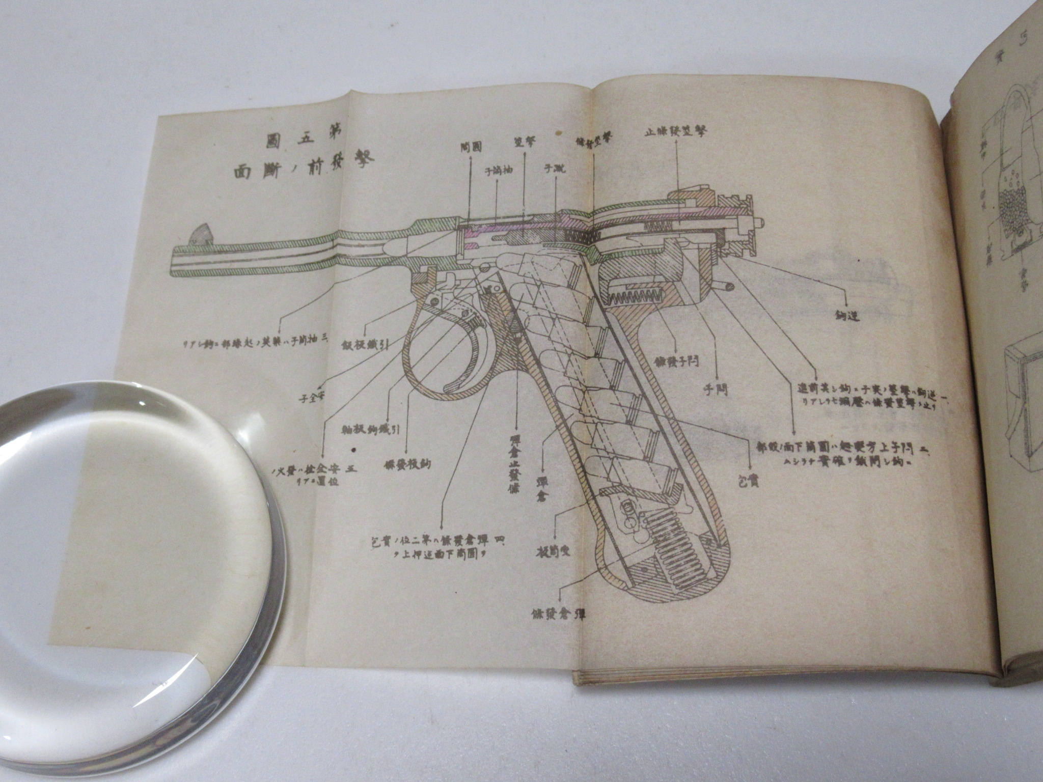十四年式拳銃取扱法 Type 14 pistol Nambu